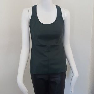 Bailey 44 faux leather tank top